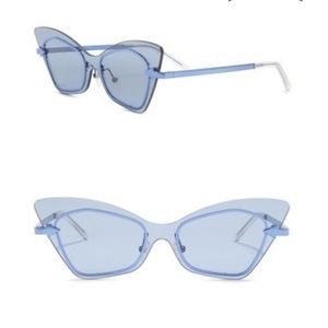 Karen Walker 53mm Mrs. Brill Cat-Eye Sunglasses